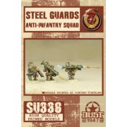 Dust Tactics - Steel Guard Anti-Infantry Squad