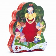 Puzzle Silhouette - Blanche Neige