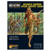 Bolt Action - Japanese Bamboo Spear Fighter squad