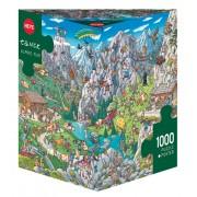 Puzzle - Alpine Fun de Birgit Tanck - 1000 Pièces