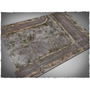 Terrain Mat Mousepad - Walking Dead City - 120x180