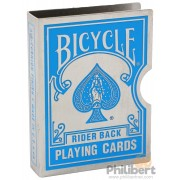 Clip Card - Bicycle Rider Back : Bleu