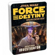 Star Wars : Force and Destiny - Investigator Specialization Deck