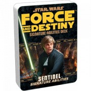 Star Wars : Force and Destiny - Sentinel Signature Abilities Specialization Deck