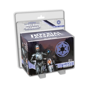 Star Wars - Imperial Assault : BT-1 and 0-0-0 Villain Pack