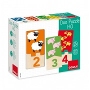 Duo Puzzle 1-10 - 20 Pièces