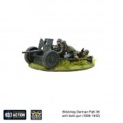 Bolt Action - Blitzkrieg German Pak 36 anti-tank Gun