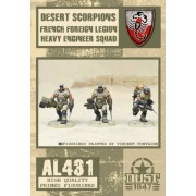 Dust - Desert Scorpions Heavy Engineer Squad