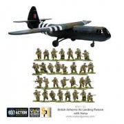 Bolt Action - British Airborne Landing Platoon with Horsa Glider