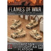 Sd Kfz 10/4 2cm Light AA Platoon