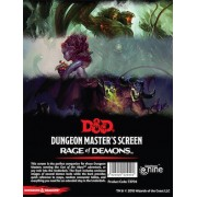 D&D DM Screen - Rage of Demons