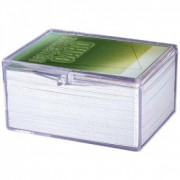 Hinged Clear Box - For 100 Cards