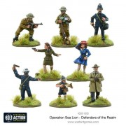 Bolt Action - Operation Sea Lion - Defenders of the Realm