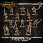 House Ellowuyr Swordsmen with Officer and Standard
