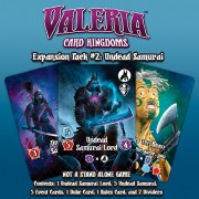 Valeria: Card Kingdoms - Expansion Pack 2 - Undead Samurai