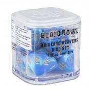 Blood Bowl : Accessoires - The Reikland Reavers Dice Set