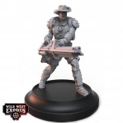 Wild West Exodus - Deputy with Heavy Weapon Gatling Gun (Light Support)