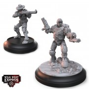 Wild West Exodus - Morgan Earp & Mech Morgan Earp Set (Sidekick)