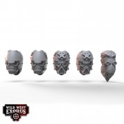 Wild West Exodus - Lawmen Interceptor Riders Alternate Head Pack