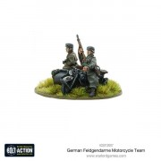 Bolt Action - German Feldgendarme Motorcycle Team