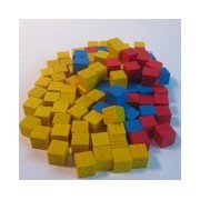 Blocks in Afrika - Wooden Cubes pas cher