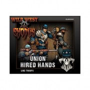Wild West Exodus - Union Hired Hands - Line Troops pas cher