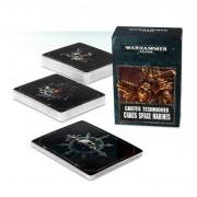 W40K : Accessoires - Cartes Techniques Chaos Space Marines