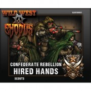 Wild West Exodus - Confederate Rebellion Hired Hands - Scouts