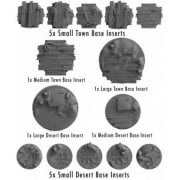 Wild West Exodus - Town and Desert Base Insert Sprue