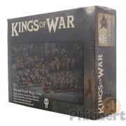 Kings of War - Mega Armée Nains Abyssaux