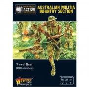 Bolt Action - Australian Militia Infantry Section (Pacific)