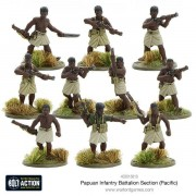 Bolt Action - Papuan Infantry Battalion Section (Pacific)