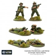 Bolt Action - Australian Flamethrower, Light Mortar and Sniper Teams (Pacific)