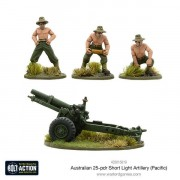 Bolt Action - Australian Short 25-pdr (Pacific)