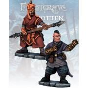 Frostgrave - Moine et Guerrier Mystique