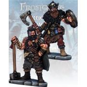Frostgrave - Chevalier et Templier Barbares