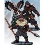 Frostgrave - Maître des Corbeaux et Javelinier Barbares