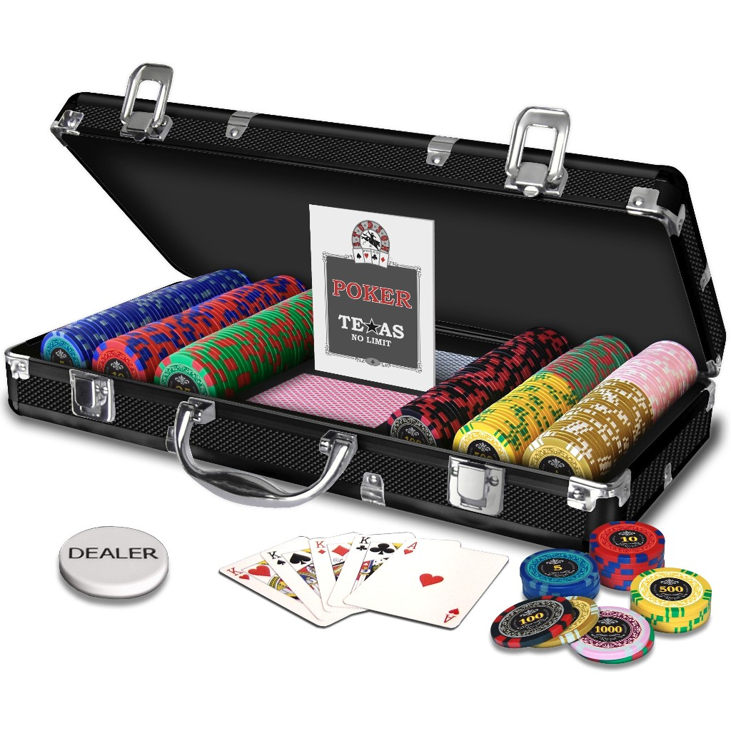 Malette poker royal 300 jetons