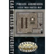 Savage Worlds - East Texas University : Maps Library / Pinebox Businesses pas cher