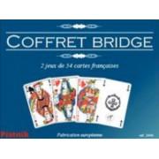 Coffret Bridge - 2 jeux de 54 cartes françaises