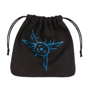 Galactic Black & Blue Dice Bag pas cher