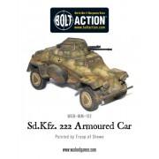Bolt Action - German Waffen SS - Sd.Kfz 222 Armoured Car pas cher