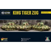 Bolt Action - King Tiger Platoon pas cher