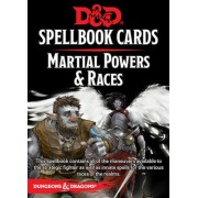 D&D : Spellbooks Cards - Martial Powers & races pas cher