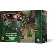 Runewars VF - Commandement d'Infanterie Elfes Latari