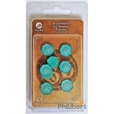 Guild Ball - Icy Sponge Token Set
