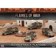 M3 Halftrack Platoon