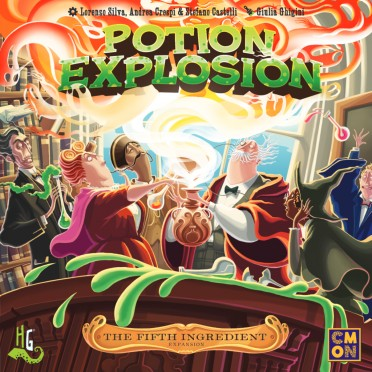 Potion Explosion : The Fifth Ingredient Expansion