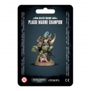 W40K : Death Guard - Plague Marine Champion