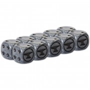 Guild Ball - The Blacksmith's Dice x10 pas cher